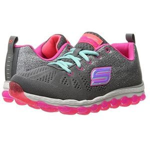 Skechers Kids Skech Air Ultra Charcoal/Multi Color